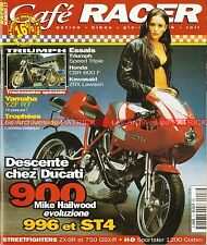 Café Racer 17 DUCATI 900 MHe 996 ST4 HONDA CB 750 Four NORTON 350 MANX YAMAHA R7