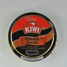 KIWI Parade Gloss Premium Leather Polish Black 2.5oz LARGE Can NEW