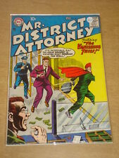 MR DISTRICT ATTORNEY #62 VG+ (4.5) DC COMICS APRIL 1958 **