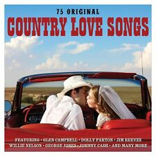 Country Love Songs 3-CD NEW SEALED Glen Campbell/Dolly Parton/Johnny Cash+