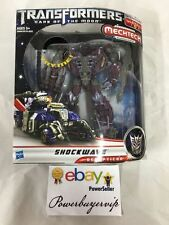 NEW AUTHENTIC Transformers Dark of the Moon MechTech Voyager Shockwave 2 DAY GET