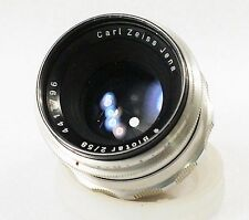 Zeiss Biotar 58mm f2 *Rare M42 mount *Excellent All Around Lens