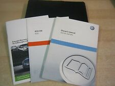VW GOLF GTI GTD  HANDBOOK PACK OWNERS MANUAL WALLET  2009-2012