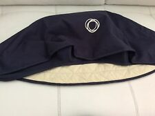 Bugaboo Frog Stroller Sun Canopy Color Navy Blue Canvas Fabric Baby Cameleon