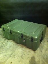 """HARDIGG/PELICAN Wheeled Shipping Case 33x21x12"""" Pressure Relief 2 Handles VG"""