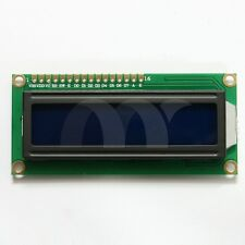1602 LCD 16x2 Character LCM Display Module HD44780 Controller Blue Backlight