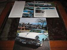 1956 Ford Fairline artículo Reg. no. XSV959