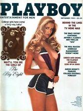 playboy magazine september 1982 mens adult glamour magazine