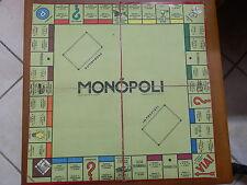 Vecchio tabellone MONOPOLI gioco da tavolo d epoca Brevetto 225/13 fabbricato
