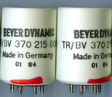 PAIR BEYER-DYNAMIC 370-215-006 15:1 & 30:1 SUT TRANSFORMER Moving Coil 45K OHM