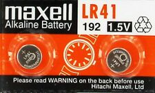 Lot 2 LR41  1.5V Micro Alkaline coin cell button Battery