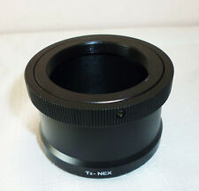 T/T2 Lens Mount Adapter Ring for Sony NEX SLR or DSLR Cameras, Brand New Boxed