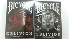 Bicycle White & Red Oblivion Playing Card Decks Limited Edtion