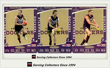 2012 AFL Teamcoach Trading Cards Prize Team set Fremantle (3)