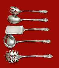 SIR CHRISTOPHER BY WALLACE STERLING SILVER HHWS HOSTESS SET 5-PIECE CUSTOM MADE