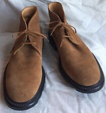 Tod's Tan Suede Desert/Chukka/Ankle Boots US Men's~8.5~Italy (Measures larger)