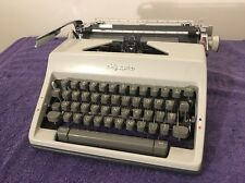 Vintage Olympia SM9 Portable Manual Typewriter Metal Casing