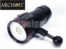 Archon D36VR W42VR Cree XM-L2 U2 Diving Underwater Video LED Torch+Ball Arm
