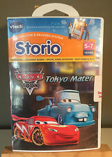 """Vtech Storio Touch Learning System Game - Disney/Pixar """"Cars Toon Tokyo Mater"""""""