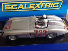 Scalextric Mille Miglia Stirling Moss 1955 Merc  300 SLR  Limited Edition New