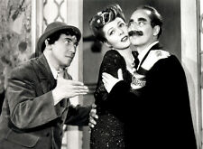 Groucho & Chico Marx and Lisette Verea photo - B2572 - A Night in Casablanca