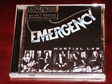 Emergency: Martial Law CD 2016 Tribunal / Divebomb Records USA DIVE128 NEW