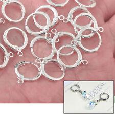 Wholesale Leverback Ear Wire Silver Earrings Jewelry Accessories Findings