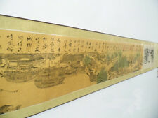 Traditional Chinese Painting Scroll Landscape Full Picture Qing Ming Shang He Tu