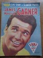 Vtg No 47 Magazine 1958 Fans Star Library Exciting Glamour Photos JAMES GARNER