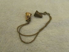 Vintage Mega Phones Charm Horn Cheerleading Gold & Brass