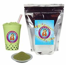 Green Tea Boba / Bubble Tea Powder by Buddha Bubbles Boba (1 Kilo | 2.2 Pounds)