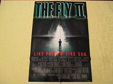 1989 The Fly II Eric Stoltz original!  27x41 1 sheet movie poster FN+