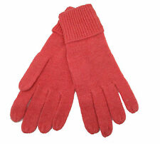 CODELLO 32098316 POETRY GRUNGE KNIT GLOVES ROSA ALPACA WOOL NEW [18]