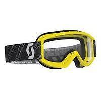 Scott Kids Childrens Goggle 89SI Junior Yellow Motorcycle MX Goggles - BC34688 T