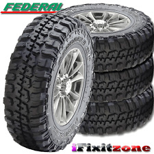 4 Federal Couragia M/T LT245/75R16/10 Mud Tires 245/75/16 120/116Q New