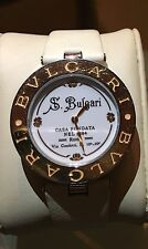 Bvlgari B. Zero1 White Dial Ladies 18 Carat Rose Gold Watch (BVL101737)