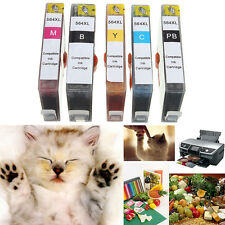 5pcs Ink cartridge Compatible for HP 564XL Photosmart B8550 B8553 C5380 C5383