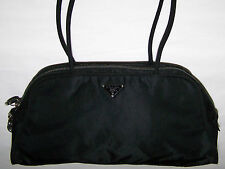 "BORSA BOLIDE ""PRADA""NYLON BLACK BAG 100% ORIGINAL MADE IN ITALY"