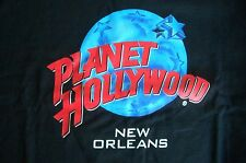 Planet Hollywood New Orleans Black Tee Size L XL-Fotos NWT Neu