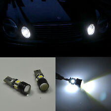 2 Error Free Bright LED Parking City Light Projector For Mercedes W211 E320 E500