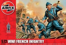 AIRFIX WWI French Infantry 1:72 Scale Plastic Kit A01728 - RARE / DISCONTINUED