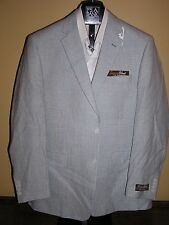 $450 new Jos A Bank Tropical green check linen blend jacket 38 S  tailored fit