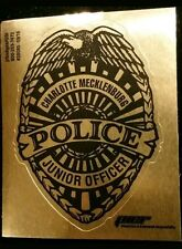 Law Enforcement Police Department sticker - Charlotte Mecklenburg Junior Officer