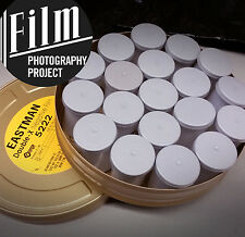 35mm Film - Eastman Double-X BW - 19 Roll Can (in an authentic Kodak film can!)