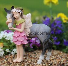 Miniature Penny and her Pony / Horse 0124 Pick Fairy Garden Diorama