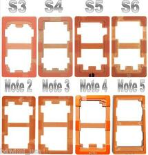 8X SET UV Glue LOCA LCD Alignment Mould Mold Samsung S3 S4 S5 S6 Note 2/3/4/5