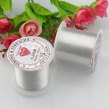 0.4MM Nylon Clear Beading Wire Thread Cord Fishing Wire Monofilament