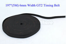 "US 197""(5M) 6mm Width GT2 Timing Belt For RepRap 3D printer Prusa Prusa CNC"