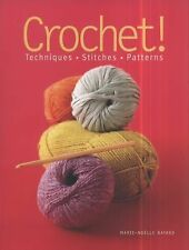 NEW Crochet! by Marie Noelle Bayard Paperback Book (English) Free Shipping