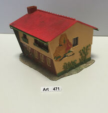 Faller B-223, H0,zweigeschossiges Wohnhaus,gut geklebt,60er Jahre, selten & RAR